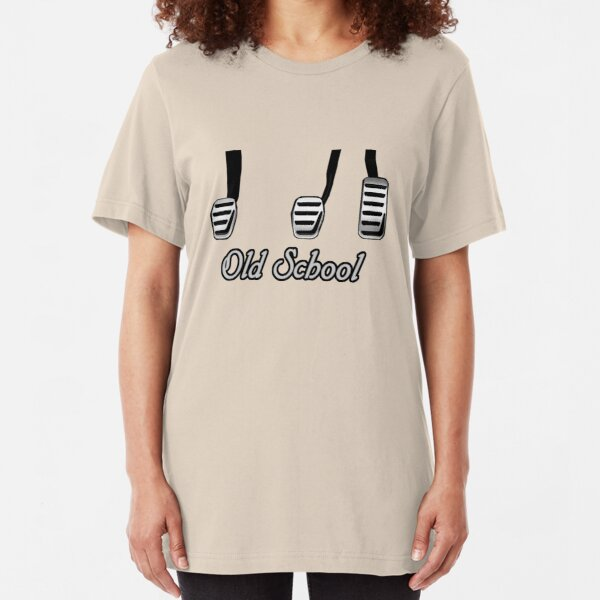 Old School Pedals Slim Fit T-Shirt