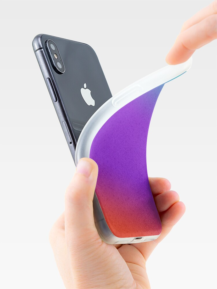 Alternate view of Colourful gradient iPhone Case & Cover