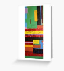 Primary Colour Greeting Card