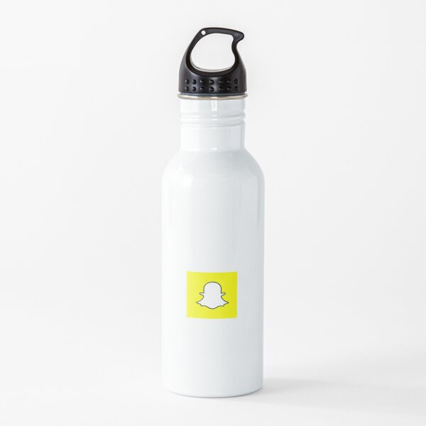 Snapchat Logo Water Bottle