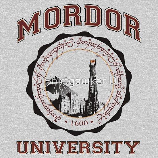 TShirtGifter presents: Mordor University