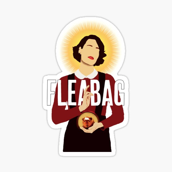 Fleabag simple avec titre Sticker