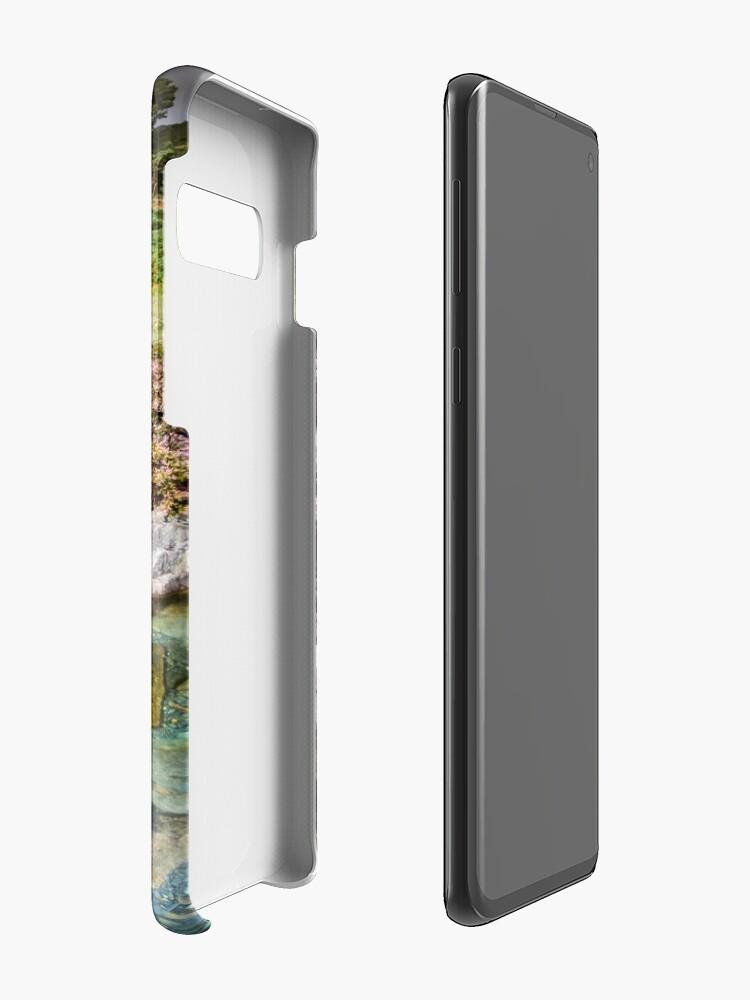 Alternate view of Snowdonia - The Watkin path to Snowdon Case & Skin for Samsung Galaxy