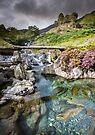 Snowdonia - The Watkin path to Snowdon by Angie Latham