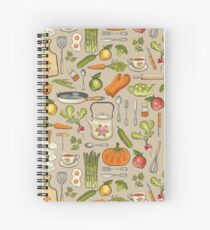 Retro kitchen. Spiral Notebook