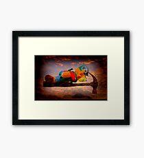 Planking Bill from Bunnings Framed Print