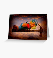 Planking Bill from Bunnings Greeting Card