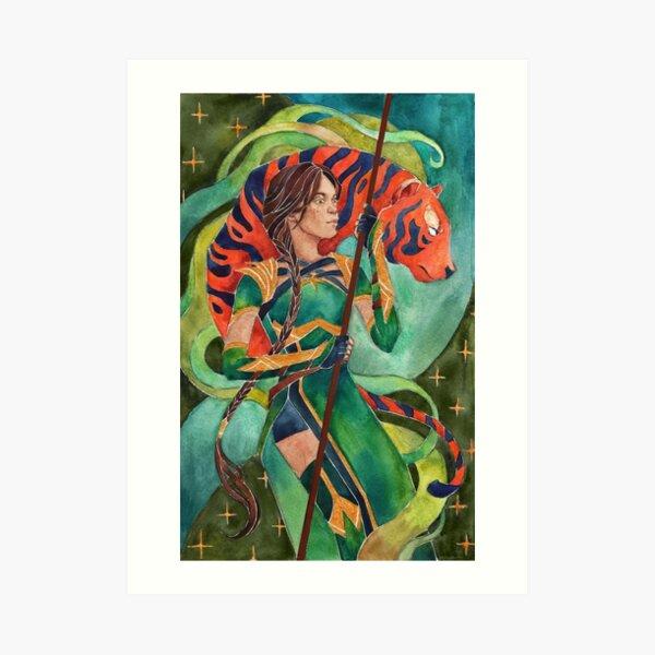 Revenant Jade Mk11 Art Print By Samuelhookham Redbubble