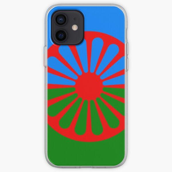 Bandera romaní Funda blanda para iPhone