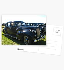 Packard #4 - 1937 V12 Postcards