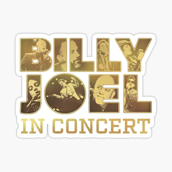 BILLY JOEL TOUR Sticker