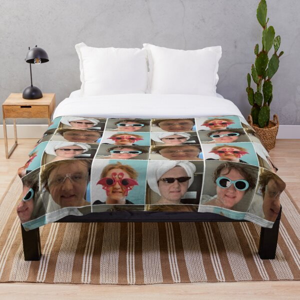 Lewis Capaldi collage Throw Blanket