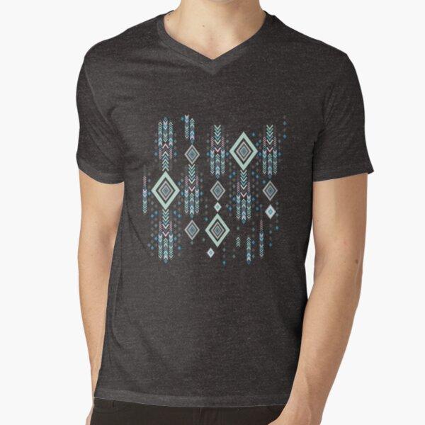 Boho Tribal Pattern  V-Neck T-Shirt