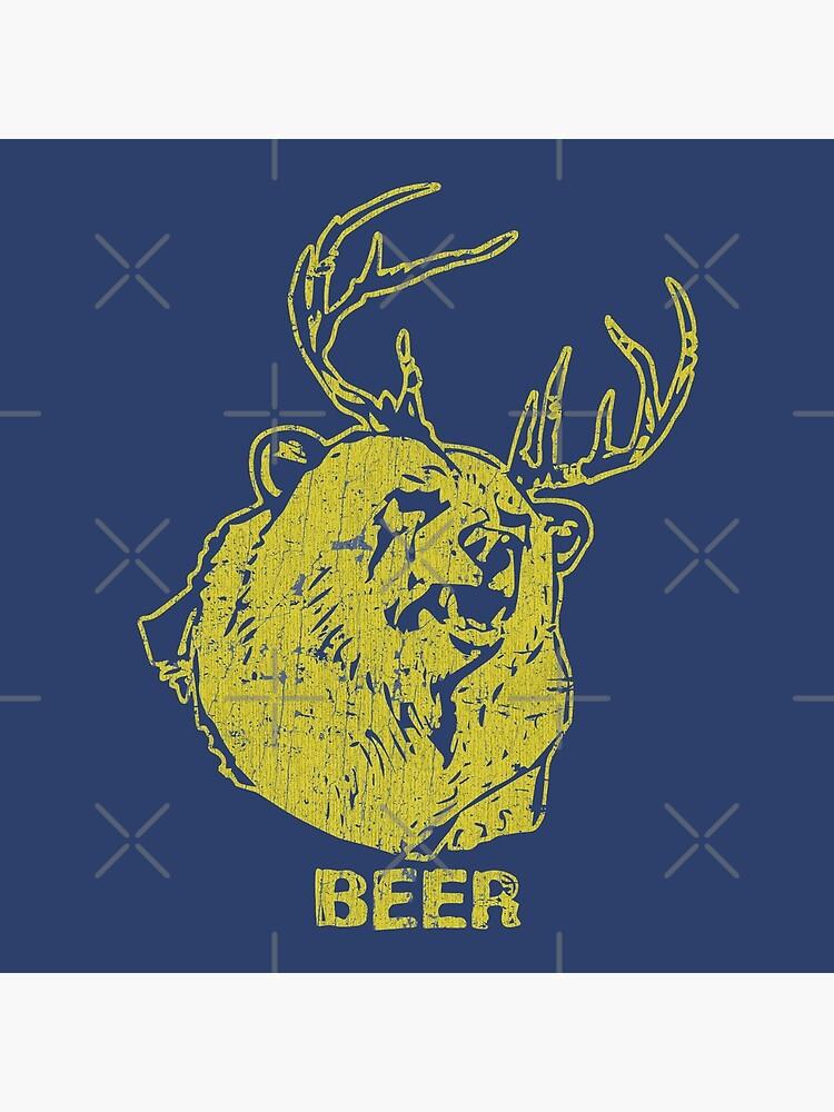 Bear + Deer = Beer by jacobcdietz