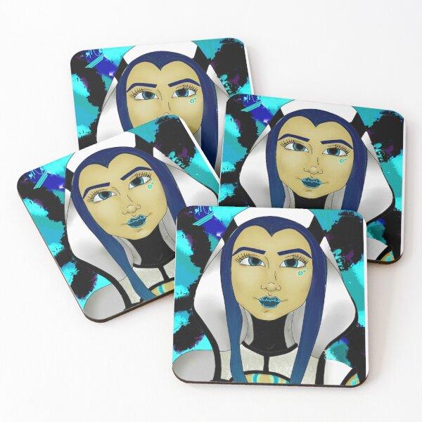 Maya - Borderlands 3 Tribute Fan Art Coasters (Set of 4)