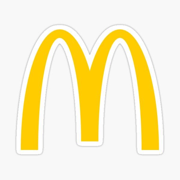 McDonalds Pegatina