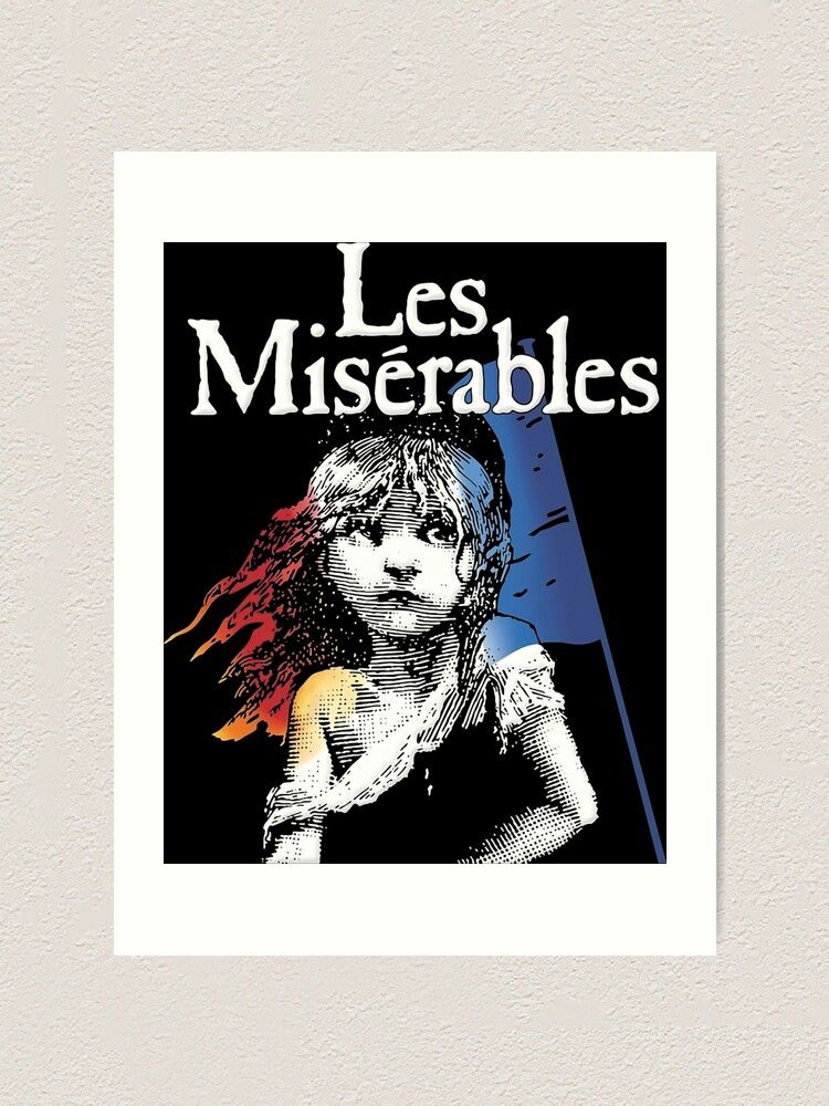 Art print POSTER les miserables
