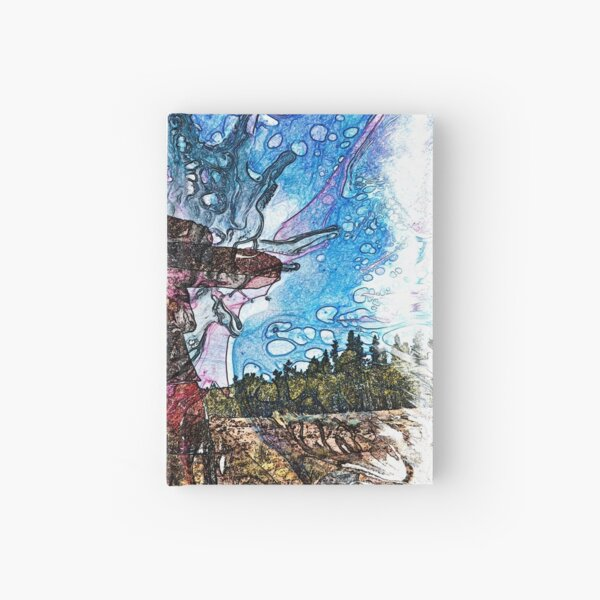 The Atlas of Dreams - Color Plate 161 Hardcover Journal