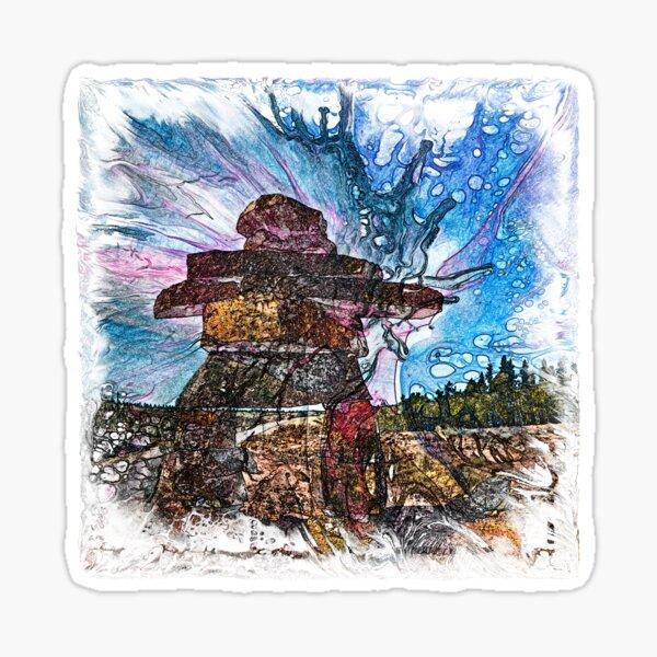 The Atlas of Dreams - Color Plate 161 Sticker