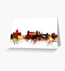 Rome Italy Skyline Greeting Card