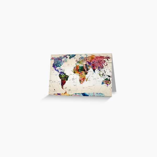 map Greeting Card