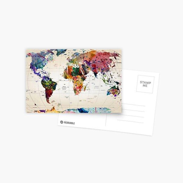 mapa Postal