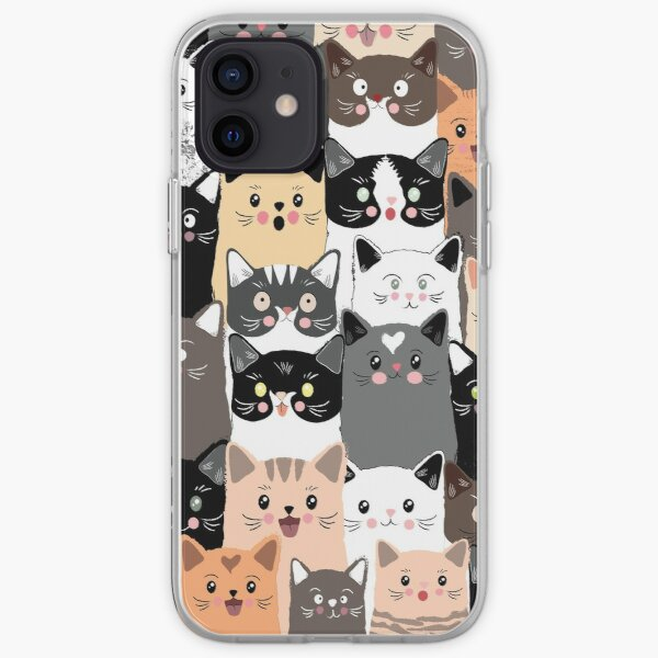 Cats iPhone Soft Case
