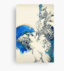 Family of owls Canvas Print