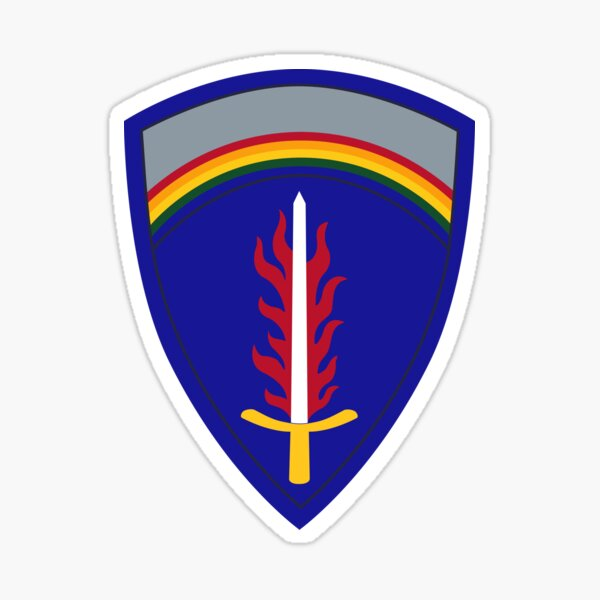 United States Army Europe (USAREUR) Sticker