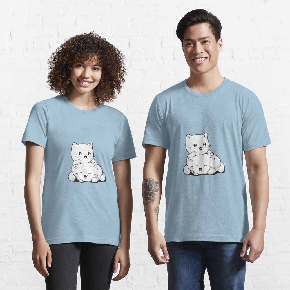 T-shirt essentiel «Chaton kawaii»