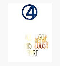 Fantastic 4  Photographic Print