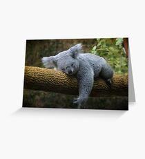 Back to Sleep Greeting Card