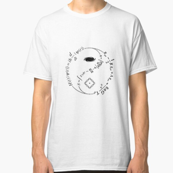 Yin Yang of Physics [LIGHT] Classic T-Shirt