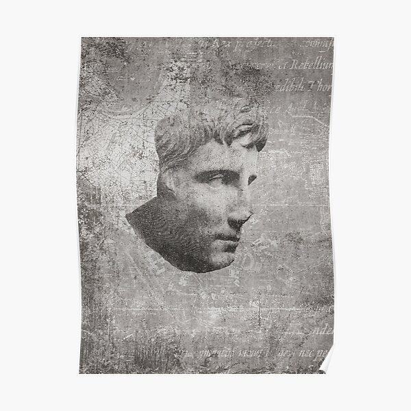 ANCIENT / Head of Augustus Poster