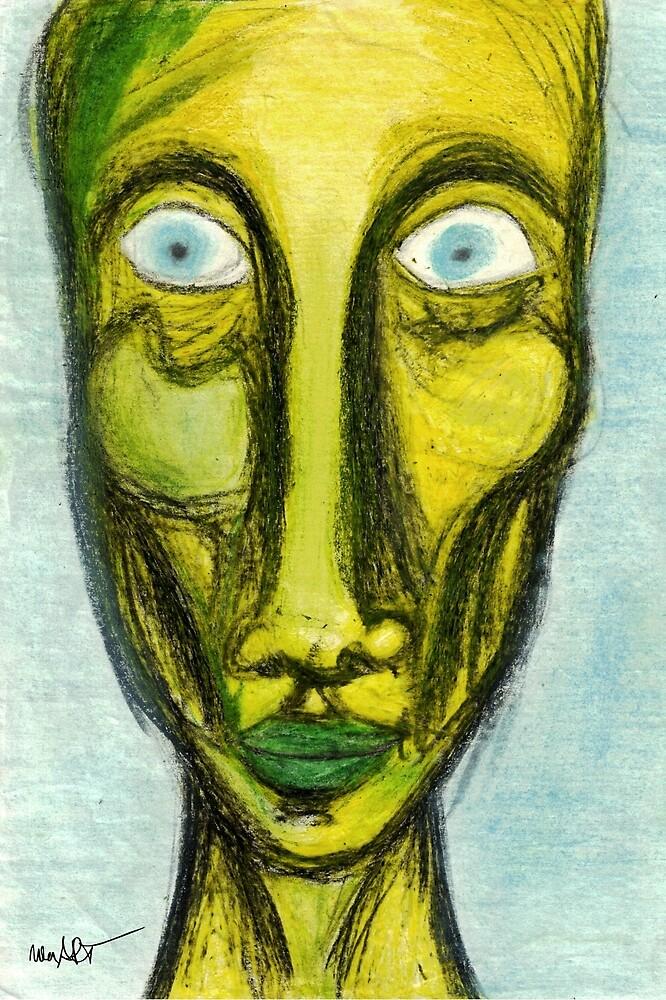 OHNE TITEL 19/01/1995 | Classical Art Mixed Media / Klassiche Kunst diverse Techniken von nenART-Official