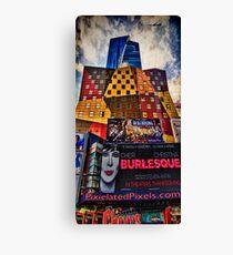 Visiting Gotham Canvas Print