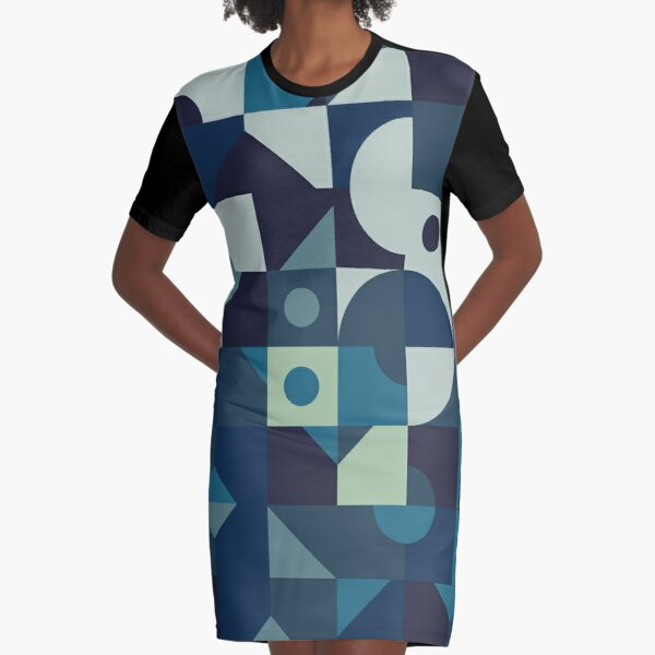 Sea of Times Graphic T-Shirt Dress