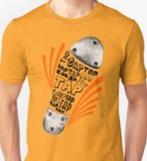 Tap Shoe Grayscale Unisex T-Shirt