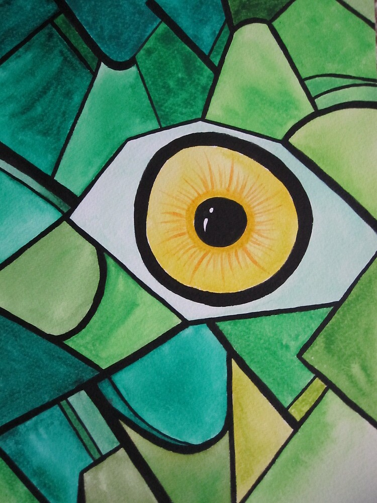 Insect eye by Lisa Wittkopp