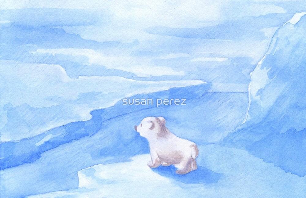Baby Eisbär von susanPerez