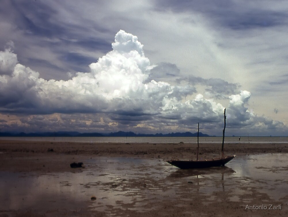 Low Tide in Ko Samui by Antonio Zarli