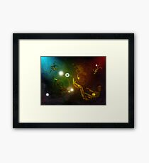 Lost In Space...Creatures Framed Print