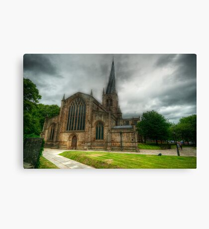 Parish Church of St Mary and All Saints Canvas Print