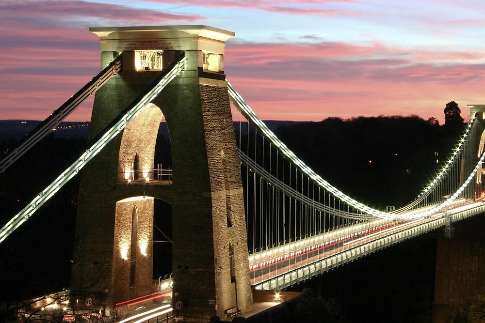 Brizzle bridge by Katie Allen