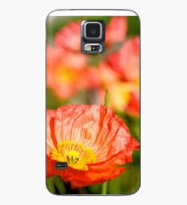 Poppies Case/Skin for Samsung Galaxy