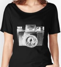 Holga 120S White (Big) Women's Relaxed Fit T-Shirt