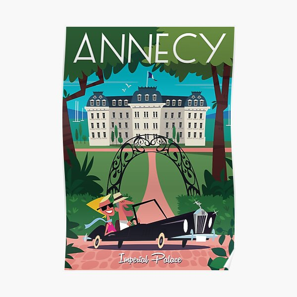 Affiche Annecy Poster