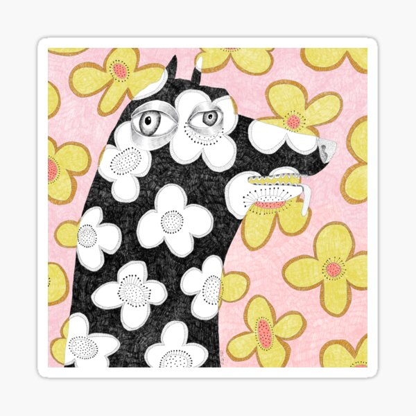 Wallpaper dog Sticker