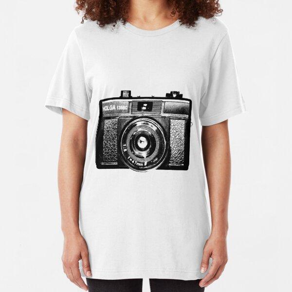 Holga 135 Black Slim Fit T-Shirt
