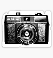 Holga 135 Black Sticker